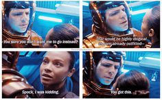 Spock & Uhura - Star Trek Into Darkness