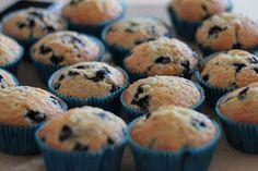 KakkuKatri: Helmin helpot mustikkamuffinit