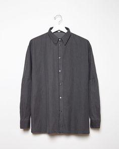 ACNE STUDIOS | Jetson Oversized Denim Shirt | Shop @ La Garçonne