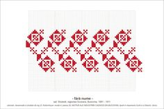 Semne Cusute: MOTIVE (P20, M4) Stitch Patterns, Knitting Patterns, Folk Embroidery, Graph Paper, Hama Beads, Beading Patterns, Pixel Art, Diy And Crafts, Projects To Try
