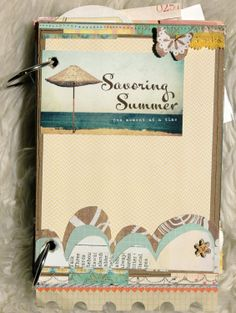 Summer Journal from Elle's Studio...great ideas in this little album.