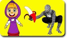 Masha and the Bear Spiderman Peppa Pig & PJ Masks Adventures - Finger Fa...
