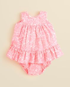 Lilly Pulitzer Infant Girls' Caldwell Dress - Sizes 3-24 Months   Bloomingdale's