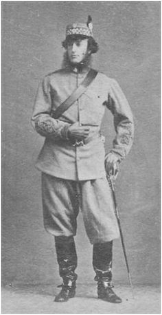 The Middlesex (London Scottish) Rifle Volunteers - Lord Elcho, M. British Army Uniform, British People, Military Uniforms, British Colonial, British Isles, Military History, Warriors, Brave, Scotland