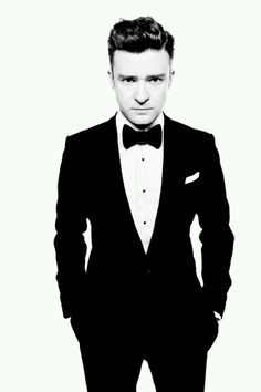 Justin Timberlake / Can't go wrong in a tux! / I loooooove guys in ties & dress shirts & what not.