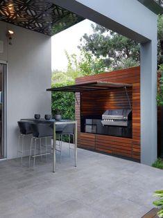 51 Ideas backyard bbq area on a budget patio Outdoor Kitchen Bars, Outdoor Kitchen Design, Kitchen On A Budget, Kitchen Ideas, Kitchen Designs, Kitchen Decor, Small Outdoor Kitchens, Design Barbecue, Grill Design