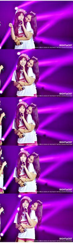SNSD Tiffany and YuRi