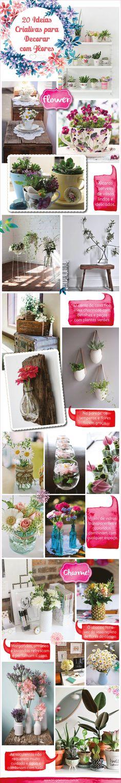 20 ideias criativas para decorar com flores - Blog da Mimis - Tem uma coisa que é unanimidade: todo mundo gosta de flores! E enfeitar a casa com lindos arranjos deixa o dia a dia mais alegre e o ambiente mais bonito.