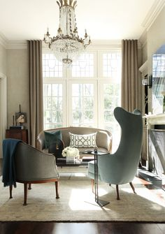 An elegant sitting room - desire to inspire - desiretoinspire.net