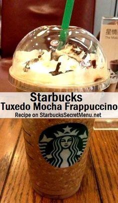 Starbucks Secret Menu Pick #3: Zebra or Tuxedo Mocha Frappuccino | Starbucks Secret Menu