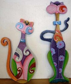Discover thousands of images about Country madera painting Mosaic Crafts, Mosaic Art, Mosaic Glass, Glass Art, Mosaic Stones, Mosaic Animals, Glass Animals, Arte Country, Mosaic Madness