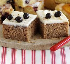 Coffee mornings were made for this moreish cappuccino cake, and it's ready in under an hour, from BBC Good Food magazine. Bbc Good Food Recipes, Sweet Recipes, Cappuccino Cake Recipes, Chocolate Easter Cake, Natural Yogurt, Cupcakes, Pudding, Coffee Cake, Coffee Logo