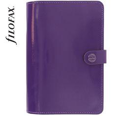 Filofax The Original Personal Patent Purple