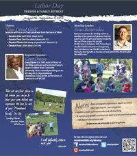 """Labor Day Friends and Family @ Monadnock Bible Conference Summer Camp  August 30-September 2, 2013 """"Our Great God"""" with Greg Dyson"""