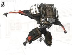 ArtStation - Rough…, by Nivanh Chanthara More robots here.