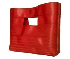 Limited Edition  The 'Hyphen' Bag in Red by interrobang on Etsy