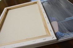 DIY Photo Canvases Tutorial by Designer Trapped in a Lawyer's Body {www.designertrapped.com} **with canvas texture!!