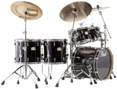 """Pearl Drums Session Studio Classic 4-Piece Drum Shell Pack - The SSC924XUP/C from Pearl Drums is a 4-piece Session Studio Classic drum shell pack. For a limited time only, receive a FREE 14x14"""" floor tom with purchase of this kit."""