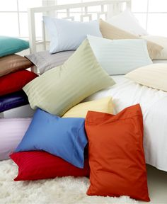 Switch it up! Register for comfy Charter Club sheets in an array of colors
