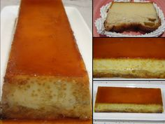 PUDDING DE ENSAIMADA Mousse, Flan, No Bake Desserts, Cupcakes, Cornbread, Cheesecake, Yummy Food, Baking, Ethnic Recipes
