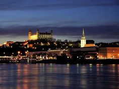 The Old Town in the Night, Bratislava