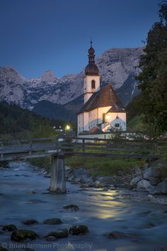 St Sebastian Church,  Bavaria, Germany. © Brian Jannsen Photography