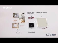 LG Chem OLED Lighting DIY Kit #OLEDDesign