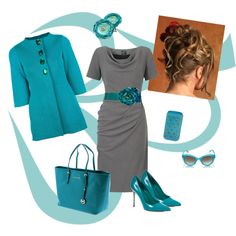 """Love the jacket!!!! """"Turquoise"""" by estes9011 on Polyvore"""