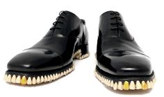 Shoes Made of Teeth