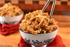 Carne de porco arroz frito - O Cozy Cozinhe