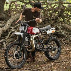 "5,007 Likes, 22 Comments - BikeBound (@bikeboundblog) on Instagram: ""Yamaha DT200 build by @earnestco for @feldonshelter. Coming soon on the blog! : @jasonhaselden ::…"""