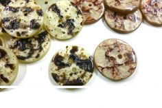 10 pcs Special buttons 20mm 23mm by MissWater, $3.50 USD
