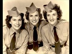The Windmill Song - The Andrews Sisters (The Telephone Song)