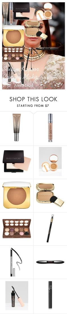 """""""Sonam Kapoor Cannes Make Up Tutorial"""" by oroartye-1 on Polyvore featuring beauty, Sonam Life, Urban Decay, Laura Mercier, L'Oréal Paris, Dolce&Gabbana, NYX, Marc Jacobs, Benefit and NARS Cosmetics"""