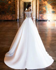 Ballgown Wedding Dress   Milla Nova 2017 Wedding Dresses www.elegantwedding.ca