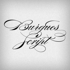 Burgues Script - Fairgoods