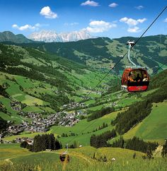 Green Valey in Saalbach-Hinterglemm, Salzburg  #austria #salzburg #saalbach #summer #hiking #gondola #mountains