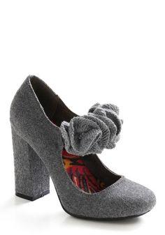 Denmark's the Spot Heel | Mod Retro Vintage Heels | ModCloth.com - StyleSays