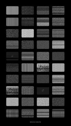 gif art Black and White design horror TV b&w black dark bw static goth grey gothic geometric Abstract grid electronic glitch noir cyberpunk noise cyber futurism bnw generative processing aesthetics procedural tech-noir