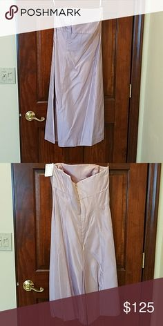 Vera Wang strapless prom/bridesmaid dress Beautiful tafetta pink/purple midi dress Vera Wang Dresses Prom