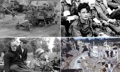 France after D-Day: Astonishing online archive of pictures shows the horror, devastation and moments of humanity in the aftermath of the lib...