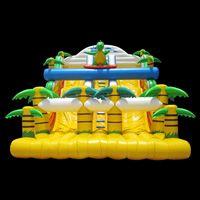 Yellow Inflatable Slide