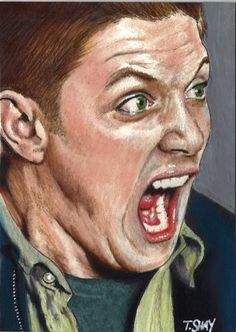 Dean Winchester Screaming by Dr-Horrible.deviantart.com on @deviantART
