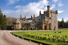 Isle of Eriska kasteel Schotland