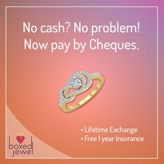 Cheque that!!! Don't curb your passion for #Jewellery. Find splendid #Rings and more at www.boxedjewel.com