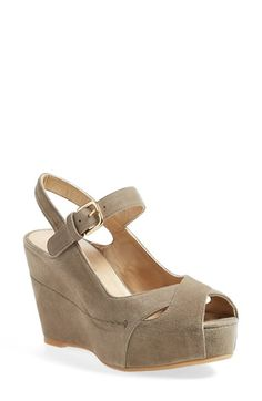 STUART WEITZMAN 'Turnover' Wedge Platform Pump. #stuartweitzman #shoes #pumps