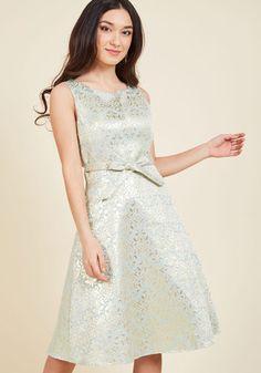 b63460dede5 1960s Style Wedding Dresses All Your Allure A-Line Dress in Mint  149.99 AT  vintagedancer