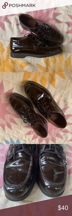 850a2fb80 Gorgeous dark brown patent leather Tod s In wonderful condition except a  few small scuffs