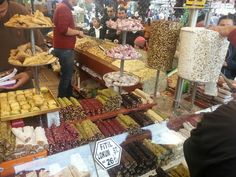 Fresh Turkish Delights and Spices