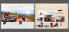 Vakantie fotoboek dagje uit thema